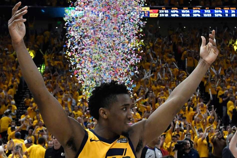 Jazz Eliminate Westbrook S Thunder Lebron Cavs Forced Game Seven