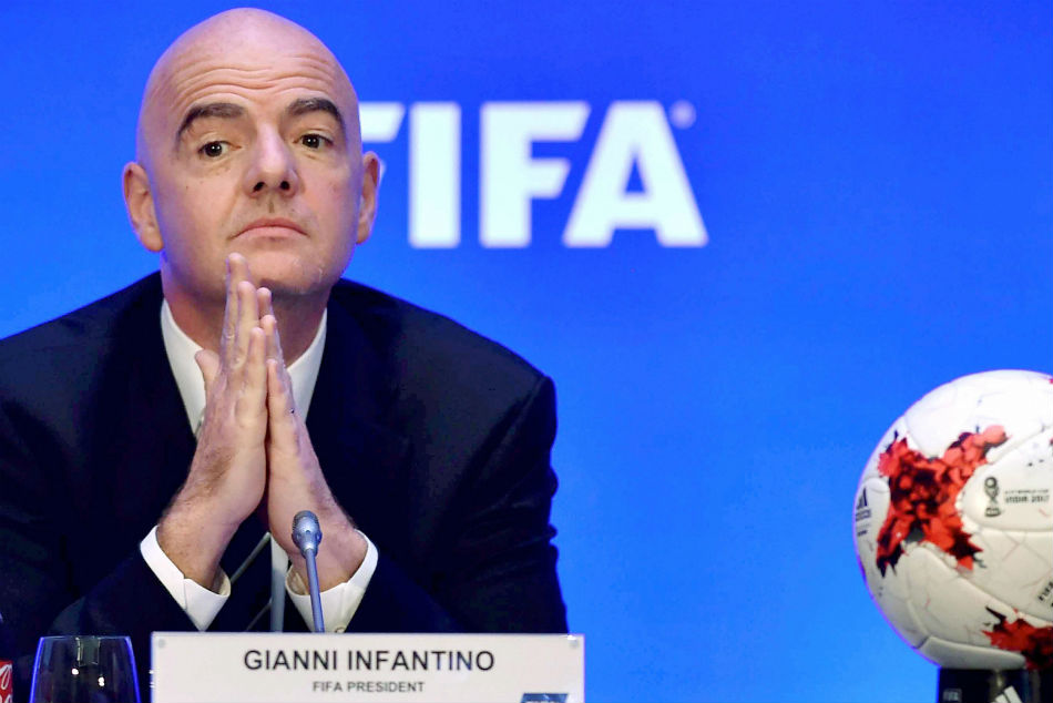 Gianni Infantinos proposal to have more teams from 2022 World Cup in Qatar has met with a strong opposition.