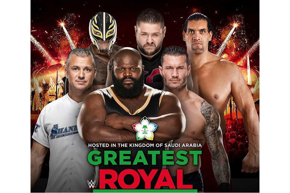 Many stars are returning to the ring for the Greatest Royal Rumble (Image: Twitter/@WWE)