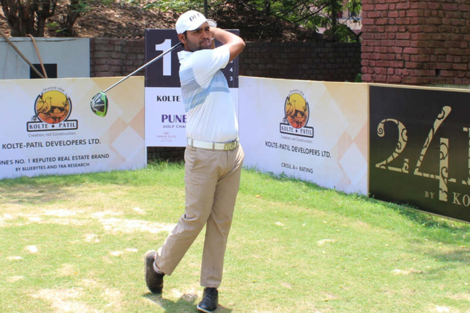 Honey Baisoya carded seven-under-64 on Day 2 of the Pune Open. Credit: PGTI