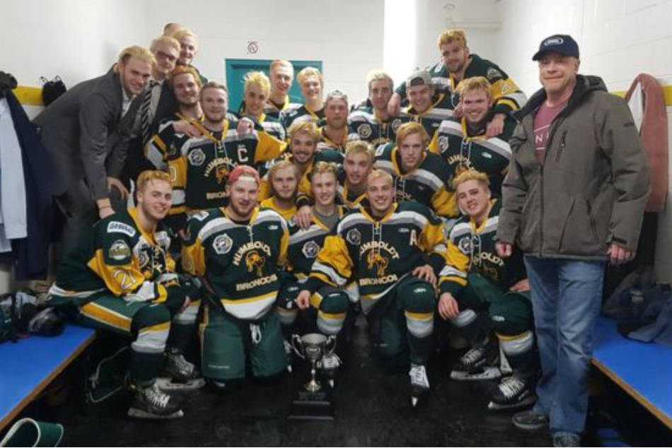 A file picture of the Humboldt Broncos ice hockey team (Image: Twitter)