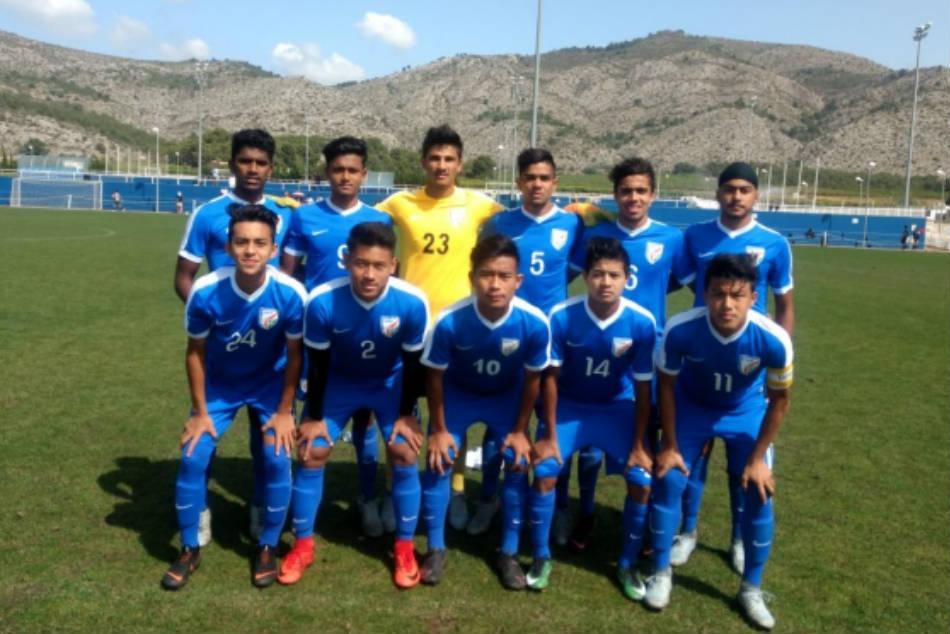 India Clubbed With Iran Vietnam Indonesia Afc U 16 Finals