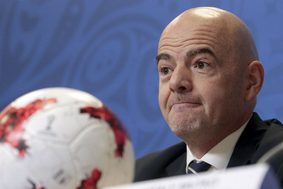 Infantino Promises Crackdown On Racism Russia World Cup