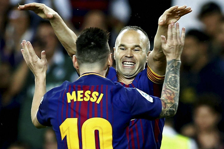 I wish this was eternal - Iniesta revels in Barca's LaLiga triumph
