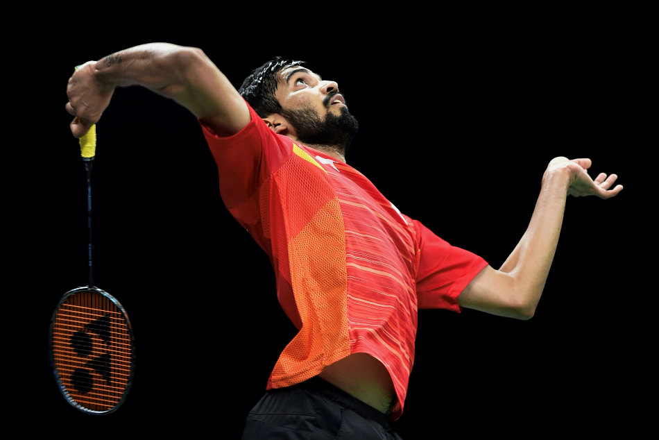 Kidambi Srikanth of India