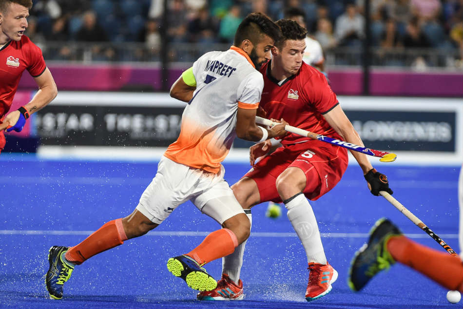 The Indian men's hockey team missed out on a medal as they went down to England in the bronze medal match of the Commonwealth Games in Gold Coast. (Credit: Hockey India)