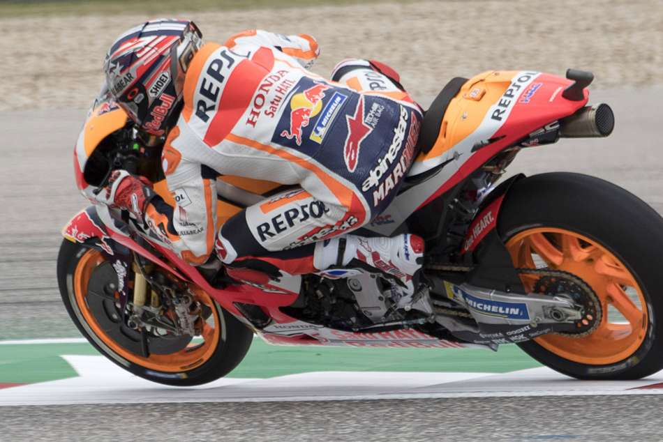 Marc Marquez Start Fourth After Being Stripped Austin Pole