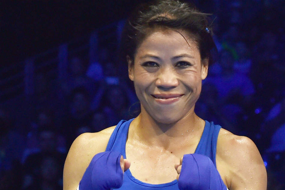 Cwg 2018 Mary Kom Storms Into Final But Sarita Devi Crashes Out
