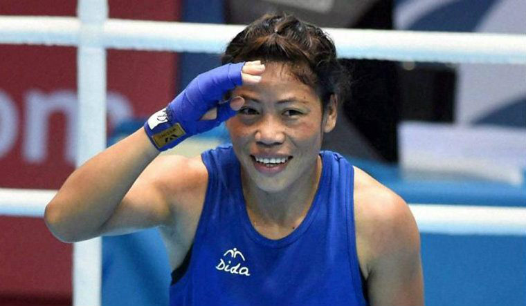 Boxer Mary Kom lands gold in 48kg at the Commonwealth Games