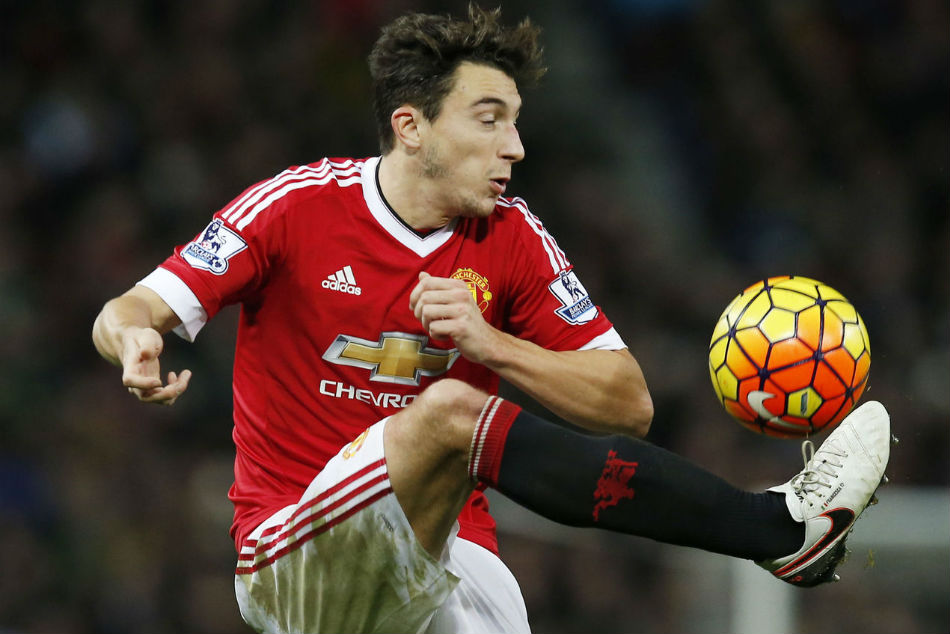 Matteo Darmian of Manchester United