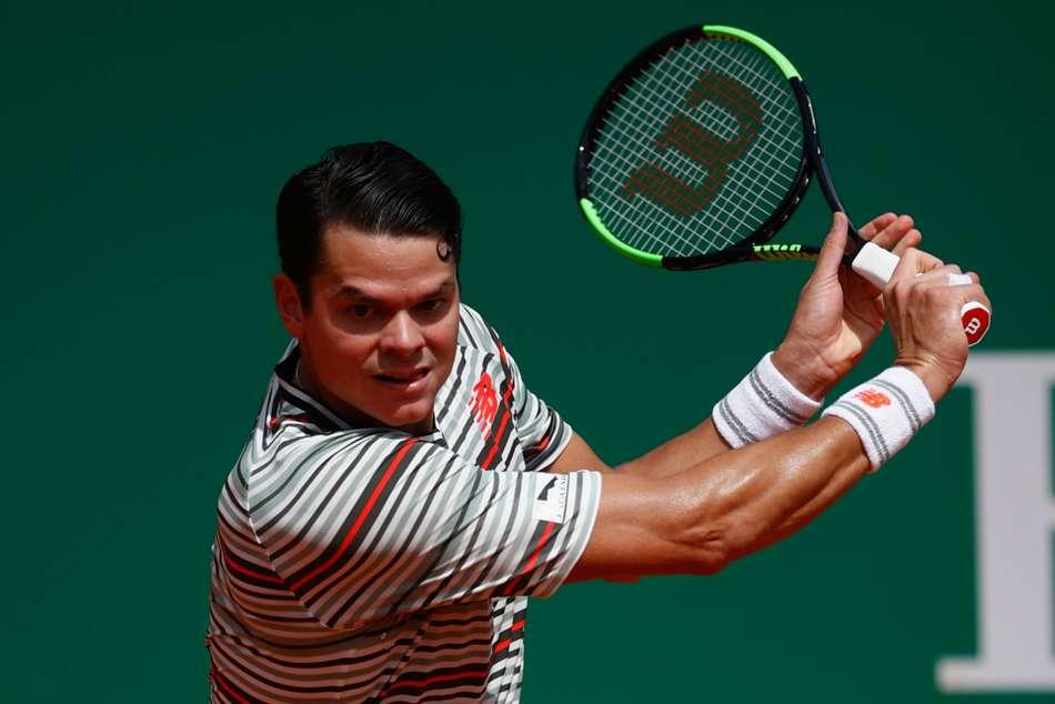 Milos Raonic Withdraws Monte Carlo Masters