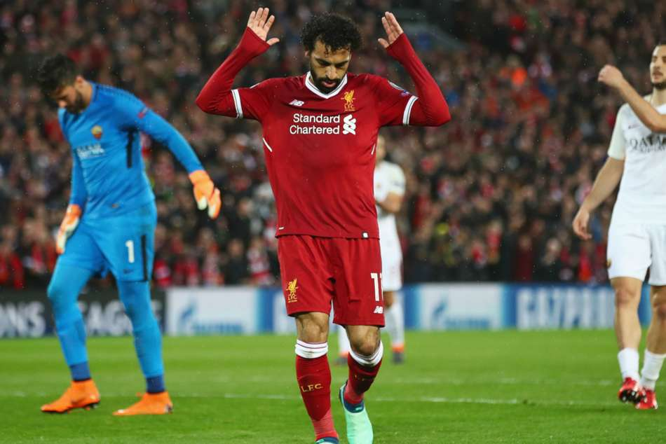 Liverpool Roma Champions League Mohamed Salah Lights Up Semi Final Match Report
