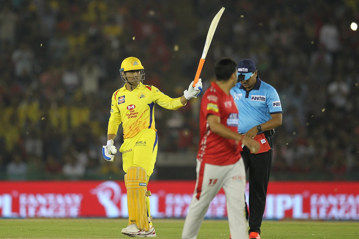IPL 2018: Dhonis 44-ball 79* goes in vain as KXIP beat CSK by 4 runs in a thriller