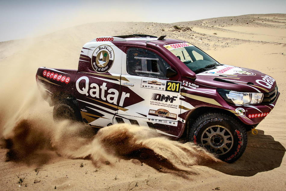 Al Attiyah Heads Strong Field Fia Cross Country Rally At Hom