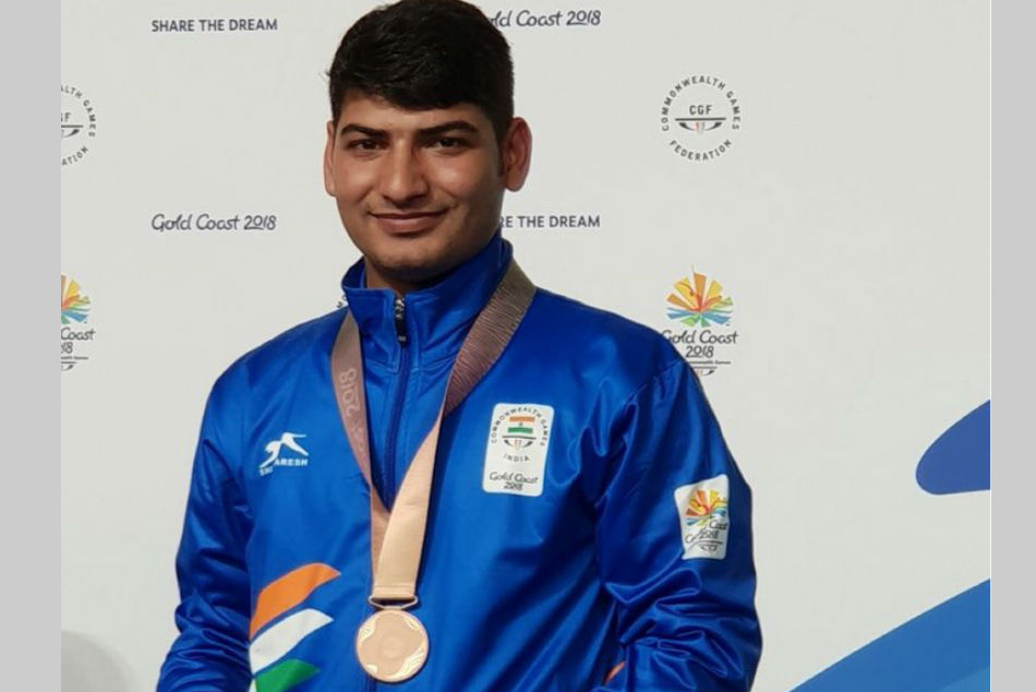 Indian shooter Om Prakash Mitharval