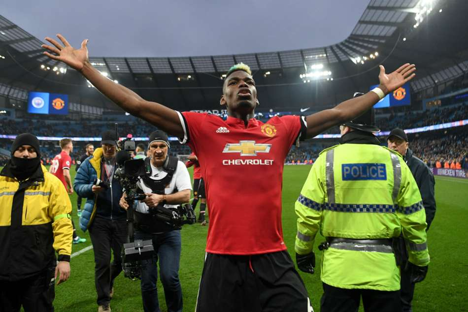 Manchester Uniteds Paul Pogba