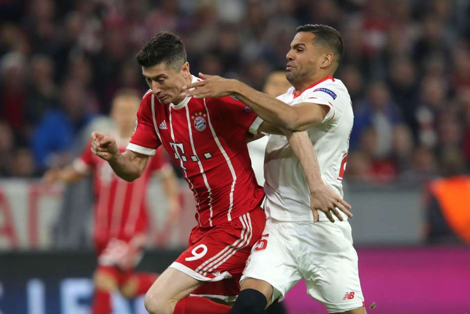 Bayern Munich warded off Sevilla to secure a place in the Champions League semifinals