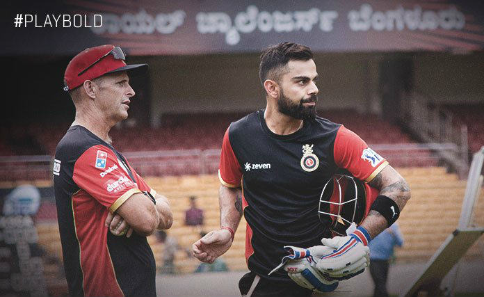 Royal Challengers Bangalore skipper Virat Kohli and coach Gary Kirsten have a lot to think about