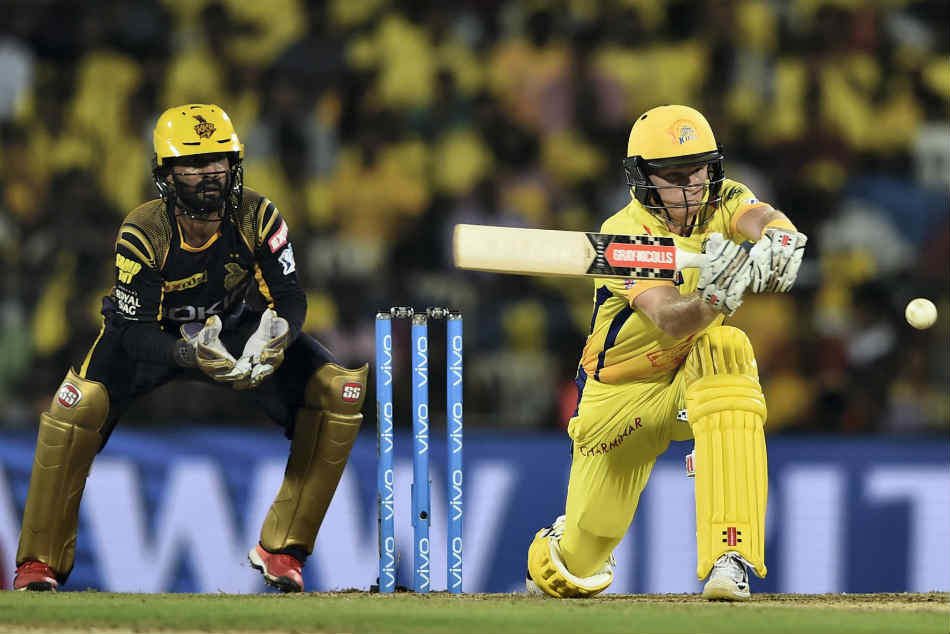 Chennai Super Kings rode on a brilliant fifty by Sam Billings to notch up a five-wicket win over Kolkata Knight Riders
