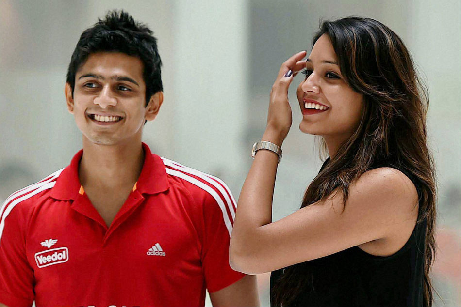 A file picture of squash players Saurav Ghosal and Dipika Pallikal