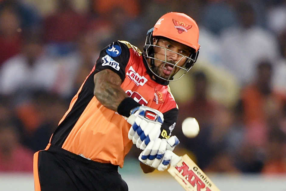 Dhawan scored 5 in his comeback match. (IANS)