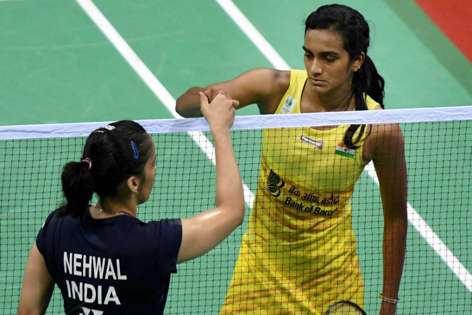 PV Sindhu will take on Saina Nehwal in an all-Indian womens final.