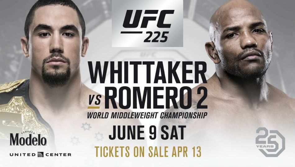 Ufc 225 Trio Bouts Almost Finalizes Chicago Card