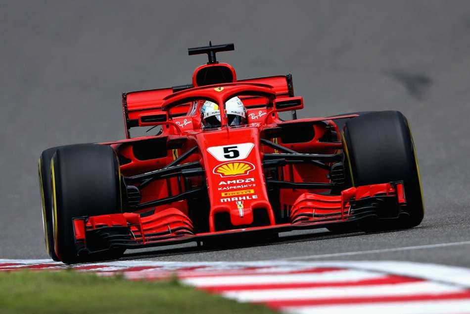 Vettel Snatches Pole From Raikkonen As Ferrari Dominate In Shanghai