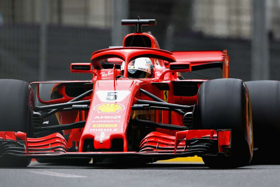Vettel takes pole position for Azerbaijan GP
