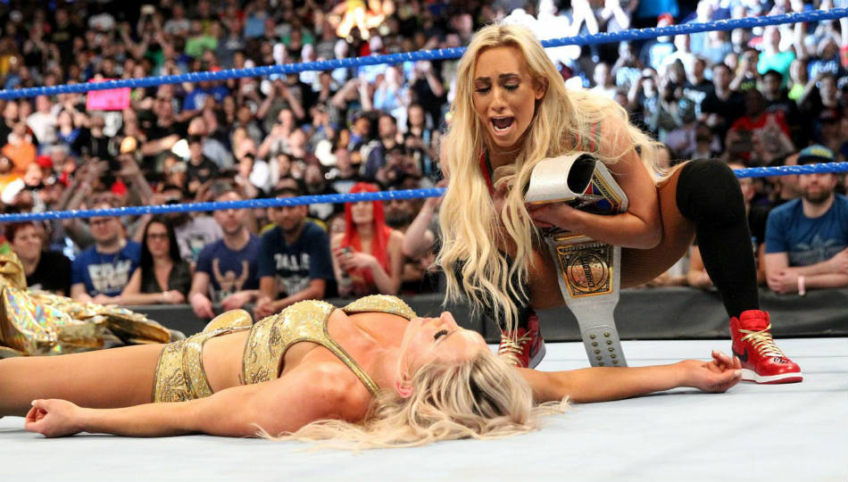 Carmella (right) (image courtesy WWE.com)