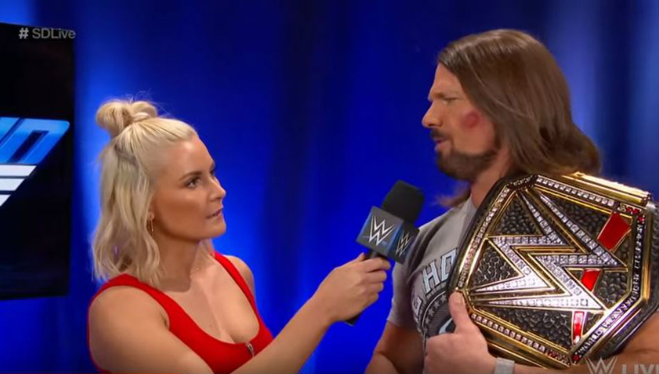 Non-Spoiler Matches For Tonight's Episode Of WWE SmackDown Live