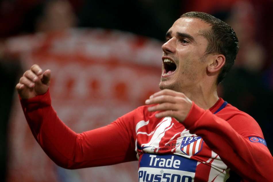 Griezmann brace secures Europa League title for Atletico Madrid