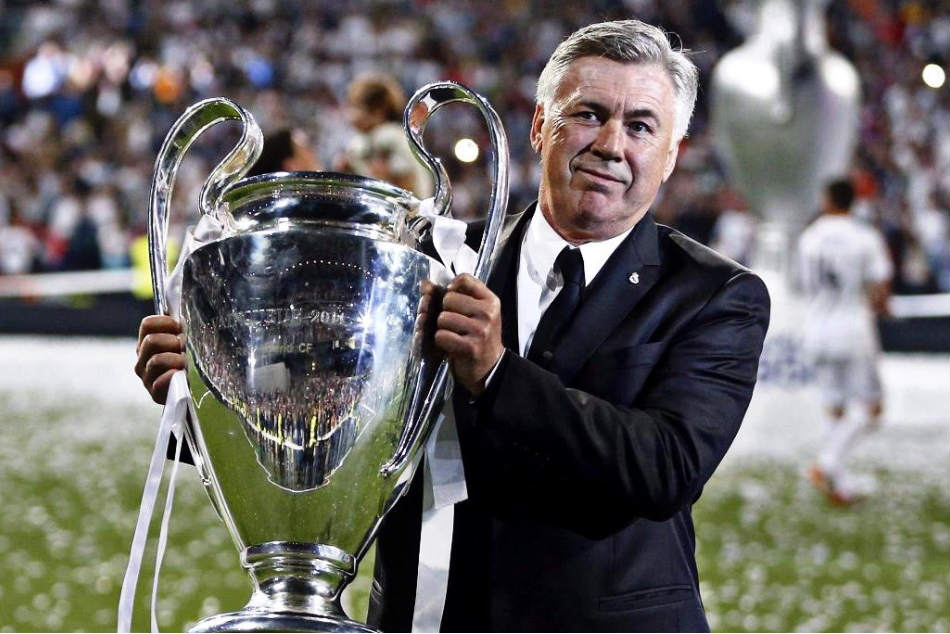 Carlo Ancelotti, former Chelsea coach, is in the running for the Napoli job (Image: Twitter)