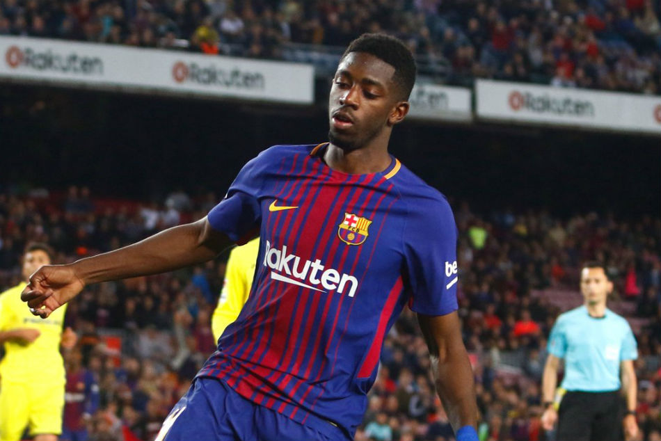 Barcelona and France forward Ousmane Dembele