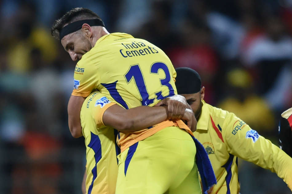 Ipl 2018 It S Nice To Contribute To Team S Win Faf Du Plessis