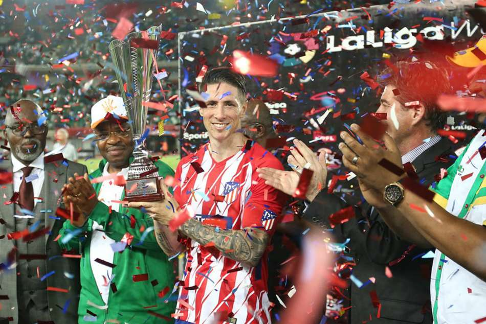 Fernando Torres leaves Atletico with two trophies in a week