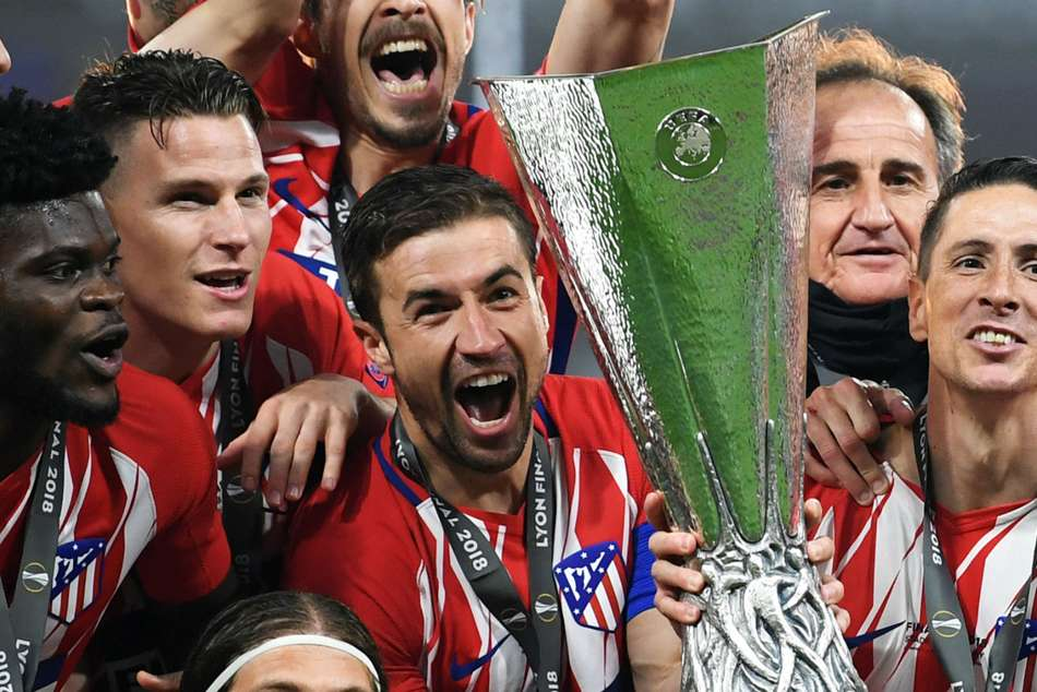 Antoine Griezmann brace helps Atletico Madrid win Europa League title