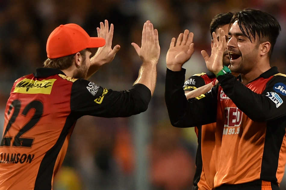 Ipl 2018 Kane Williamson Hails Rashid Khan After Match Turning Effort