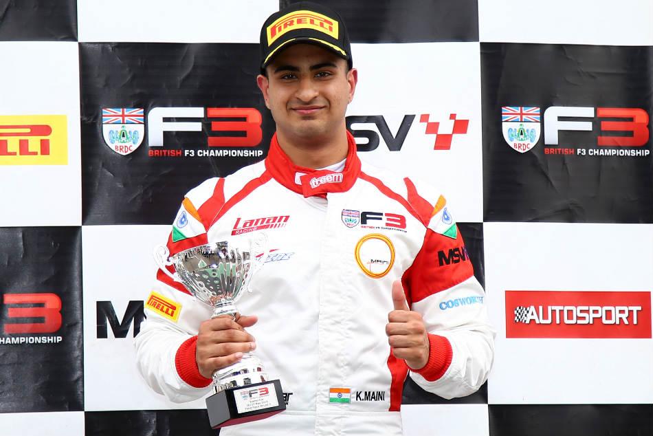 Kush Maini Moves Into The Third Spot At The Brdc F3 Championship