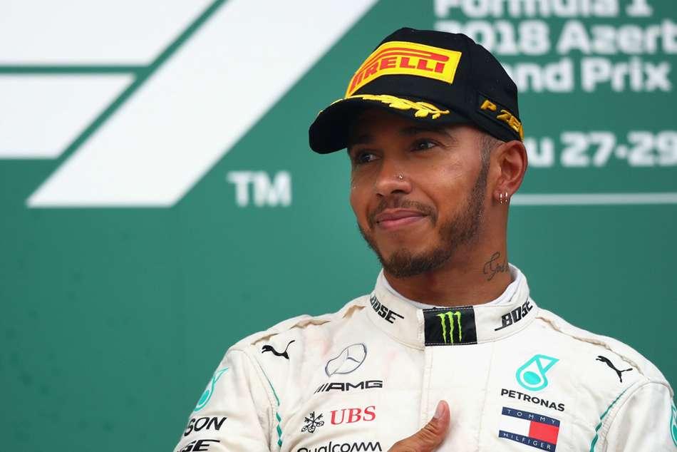 Lewis Hamilton Michael Schumacher F1 Raceweek Spanish Grand Prix Numbers