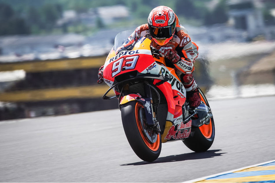 French Grand Prix Marc Marquez Bags Third Straight Win Le Mans