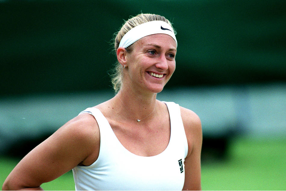 A file picture of Mary Pierce
