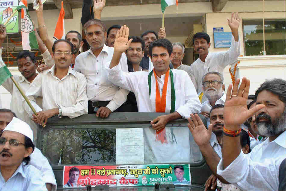 Former Indian batsman Mohammad Kaif contested unsuccessfully from Phulpur (UP) in Congress ticket during the last general election
