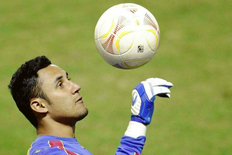 Real Madrid and Costa Rica goalkeeper Keylor Navas