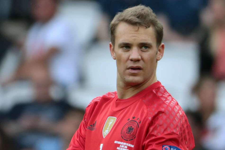 Goalkeeper Manuel Neuer in Germany's preliminary World Cup squad, Mario Goetze out