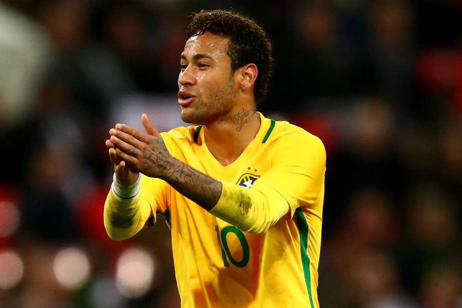 Recovering Neymar part of Brazil squad