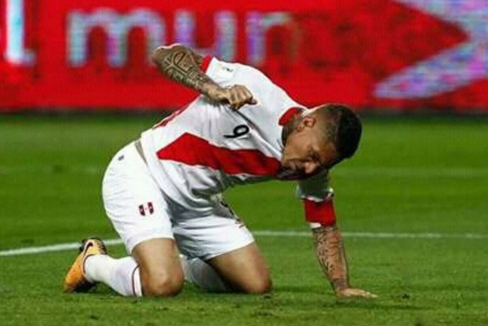 Peru captain Paolo Guerrero to miss 2018 World Cup