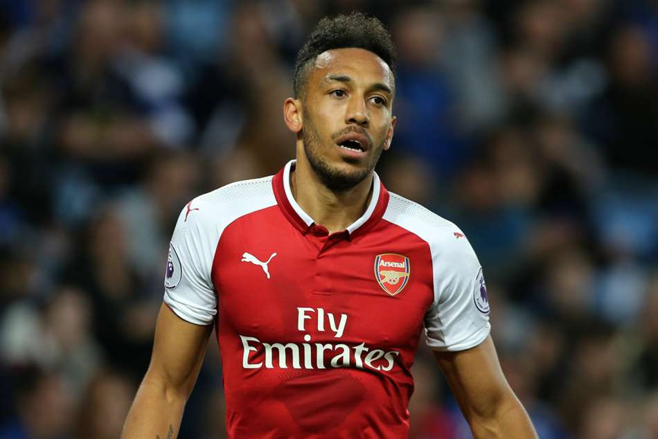 Pierre-Emerick Aubameyang of Arsenal