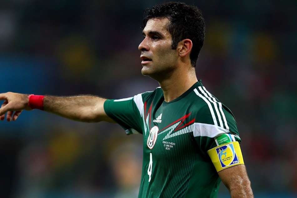 Mexicos Rafael Marquez to play in fifth World Cup
