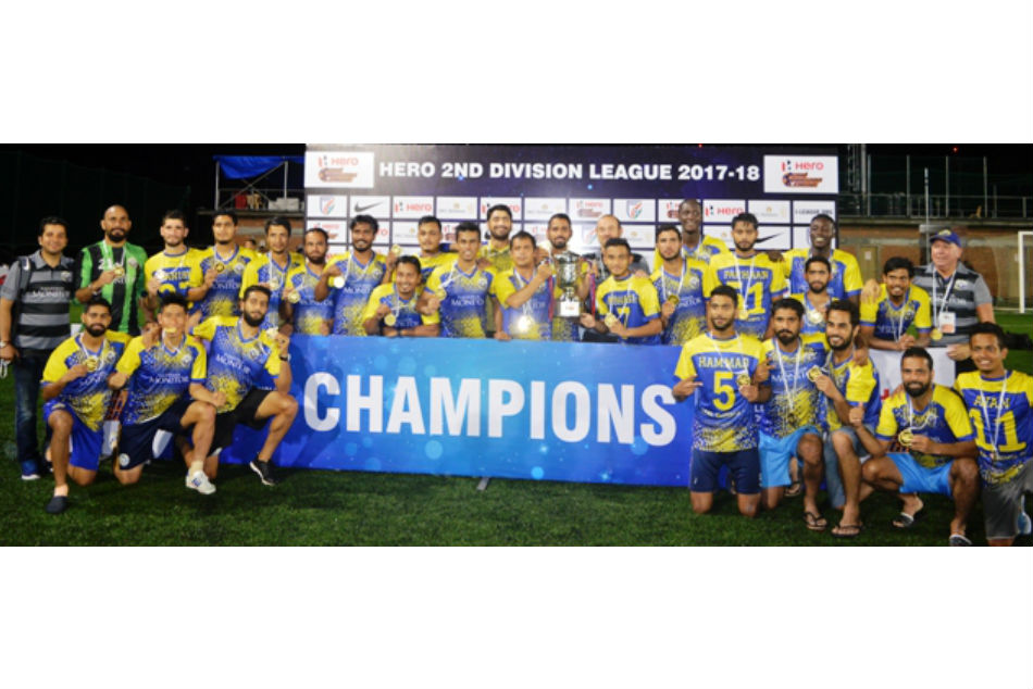 Second Division I League Real Kashmir Fc Edge Hindustan Fc Promotion